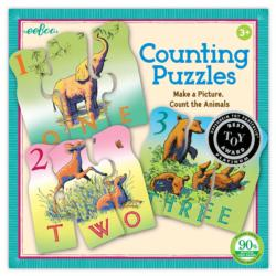 Animal Counting Pi Day Children's Puzzles