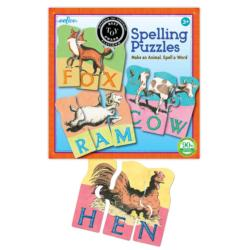Animal Spelling Educational Children's Puzzles