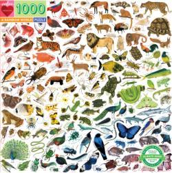 A Rainbow World Animals Jigsaw Puzzle