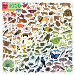 A Rainbow World Animals Jigsaw Puzzle