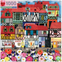 Whimsical Village Cities Jigsaw Puzzle