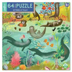 Otters at Play Lakes / Rivers / Streams Children's Puzzles