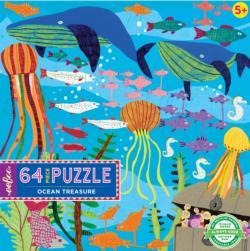 Ocean Treasure Fish Children's Puzzles