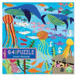 Ocean Treasure Fish Children's Puzzles