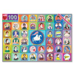 Votes for Women Famous People Jigsaw Puzzle
