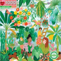 Plant Ladies Plants Jigsaw Puzzle
