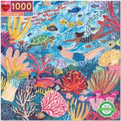 Coral Reef Turtles Jigsaw Puzzle