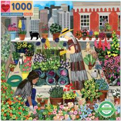 Urban Gardening Cities Jigsaw Puzzle
