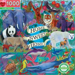 Planet Earth Jungle Animals Jigsaw Puzzle