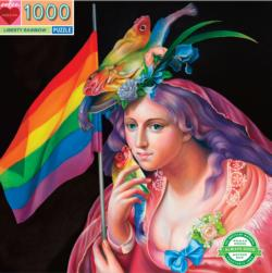 Liberty Rainbow People Jigsaw Puzzle