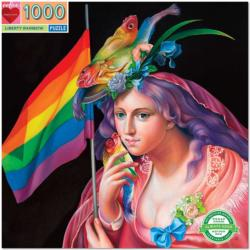 Liberty Rainbow People Jigsaw Puzzle