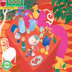 Eating Outside Food and Drink Jigsaw Puzzle
