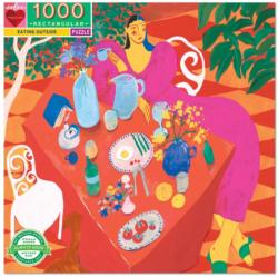 Eating Outside Outdoors Jigsaw Puzzle