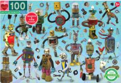Upcycled Robots Robots Jigsaw Puzzle