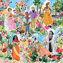 Poet's Garden People Jigsaw Puzzle