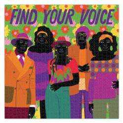 Find Your Voice Cultural Art Jigsaw Puzzle