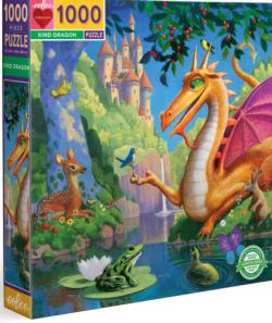 Kind Dragon Dragons Jigsaw Puzzle