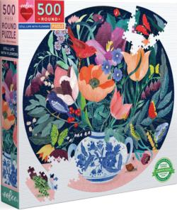 Still Life With Flowers Flowers Jigsaw Puzzle