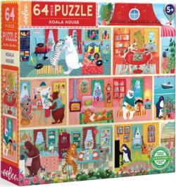 Koala House Domestic Scene Children's Puzzles
