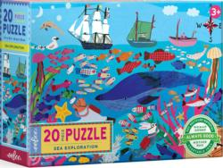 Sea Exploration Fish Jigsaw Puzzle