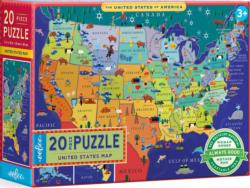 United States Map Maps / Geography Jigsaw Puzzle