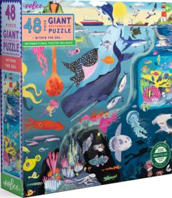 Within the Sea Under The Sea Children's Puzzles