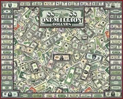 One Million Dollars Everyday Objects Jigsaw Puzzle