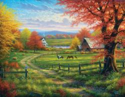 Peace and Tranquility Landscape Jigsaw Puzzle