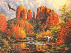 Sedona Majesty - Scratch and Dent Nature Jigsaw Puzzle