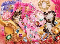 A Twinkling Disaster Cats Jigsaw Puzzle