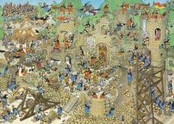 Castle Conflict Castles Jigsaw Puzzle