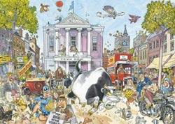 Wasgij Destiny #12 - Market Mayhem Wasgij Jigsaw Puzzle