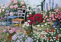 A Quiet Corner Garden Jigsaw Puzzle
