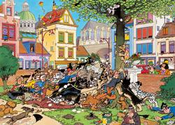 Get The Cat! Cartoons Jigsaw Puzzle