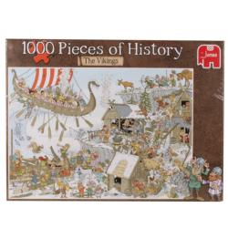 Pieces of History - Vikings Illustration Jigsaw Puzzle