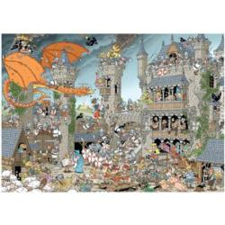 The Castle Cartoons Jigsaw Puzzle