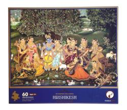 Hrishikesh Puzzle (Sri Krishna Leela Series) Cultural Art Jigsaw Puzzle