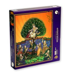 Shyam Sundar Puzzle (Sri Krishna Leela Series) Cultural Art Jigsaw Puzzle
