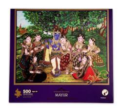 Mayur Puzzle (Sri Krishna Leela Series) Cultural Art Jigsaw Puzzle