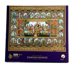 Ramayan Manjari Puzzle (Sri Ram Kathamrit Series) Cultural Art Jigsaw Puzzle