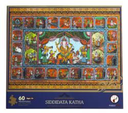 Siddidata Katha Puzzle (Sri Ganesh Puran Series) Elephants Jigsaw Puzzle