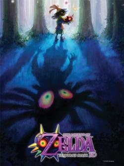 The Legend of Zelda™ Majora's Mask: Monster Hunter Video Game Jigsaw Puzzle