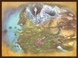 The Legend of Zelda™ Majora's Mask: Termina Map Video Game Jigsaw Puzzle