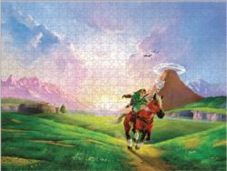 The Legend of Zelda™ Link's Ride Video Game Jigsaw Puzzle