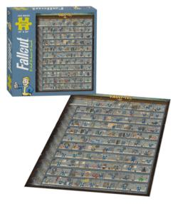 Fallout Perk Poster Video Game Jigsaw Puzzle