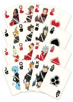 Rick and Morty Movies / Books / TV Playing Cards
