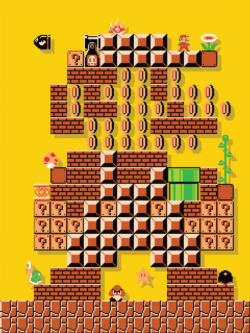 Mario Maker #1 Puzzle Video Game Jigsaw Puzzle