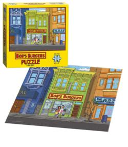 Bob's Burgers: Store Front Movies / Books / TV Jigsaw Puzzle