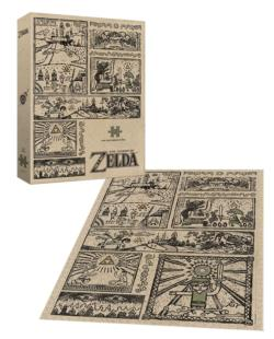 The Legend of Zelda™ Legend of the Hero Video Game Jigsaw Puzzle