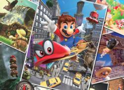 Super Mario™ Odyssey Snapshots Movies / Books / TV Jigsaw Puzzle